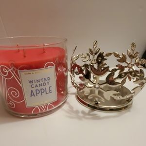 Bath & Body Works Candle/Holder